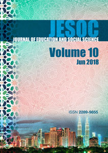 Cover JESOC VOL. 10, June 2018